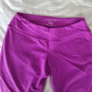 Beyond Yoga Pants - NWOT Beyond Yoga Pink Flared Capri Yoga Pants, S